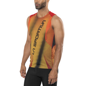 La Sportiva Velocity Tanktop Men Black/Yellow